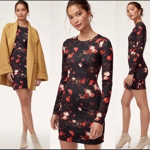 Floral Wilfred bodycon dress- new with tags